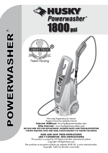 Download: Husky power washer gcv 190 manual at Marks Web of Books